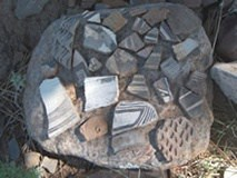 Mimbres Pottery Shards, Native American Culture, Geronimo Trail Guest Ranch