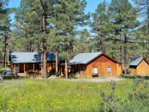 Cabins at Geronimo Trail Guest Ranch.