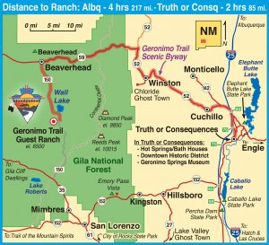 Location & Directions | Geronimo Trail Guest Ranch on tx road map, al road map, km road map, az and mexico map, colorado road map, new mexico interstate map, new mexico i-40 map, new mexico township and range map, oklahoma road map, new mexico counties county seats map, md road map, az road map, mi road map, bc british columbia road map, new mexico state map, aa road map, northern new mexico map, albuquerque road map, dd road map, la road map,