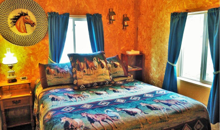 Bed - Outlaw room