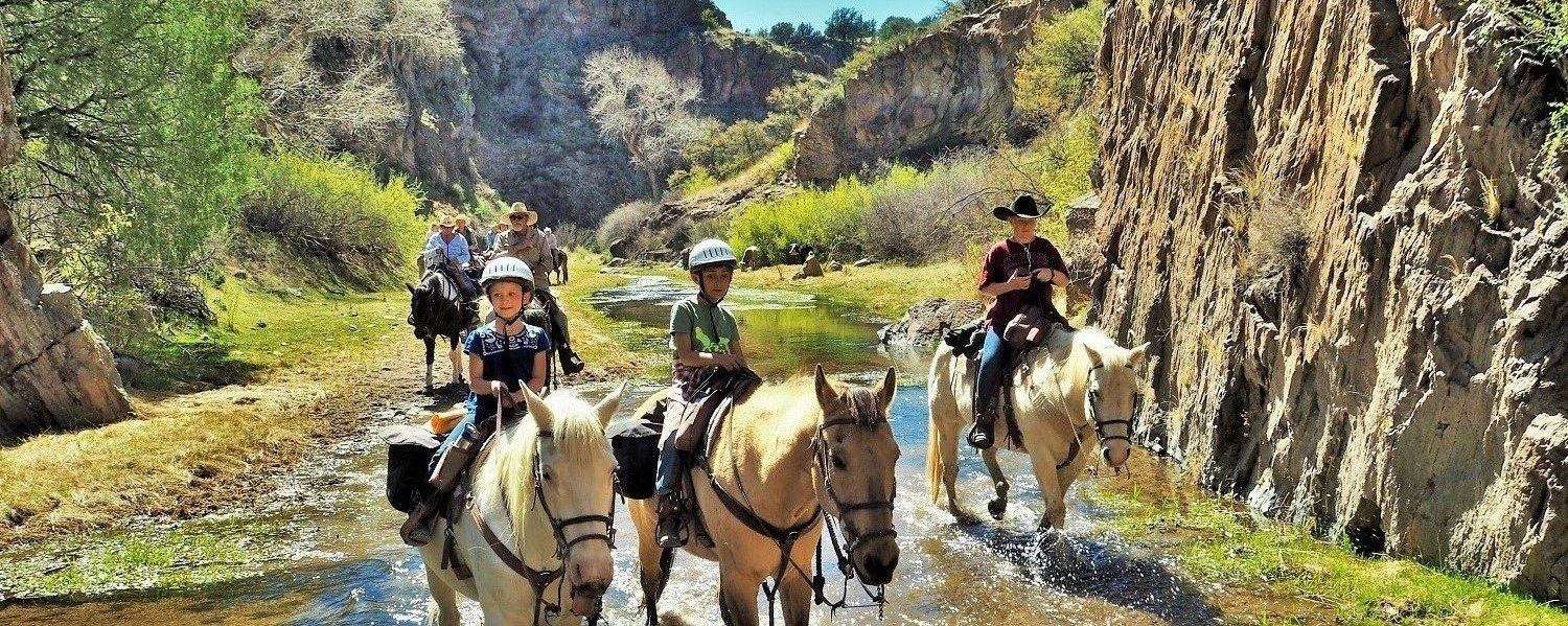 Spring Break at Geronimo Trail Guest Ranch, Gila National Forest, New Mexico