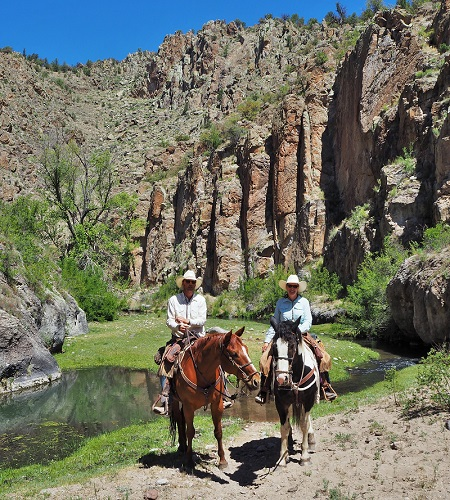 Meris and Seth, Owners at Geronimo Trail Guest Ranch