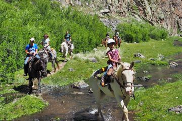 Spring Vacation at Geronimo Trail Guest Ranch, New Mexico