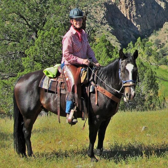 Smokey at Geronimo Trail Guest Ranch