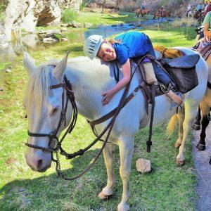 Casper at Geronimo Trail Guest Ranch
