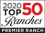 2020 Top 50 Ranches Logo