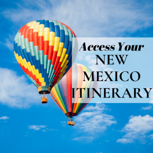 access our new mexico itinerary