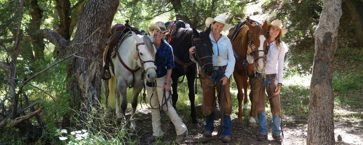 Brenda Frey, Swiss Cultural Exchange at Geronimo Trail Guest Ranch
