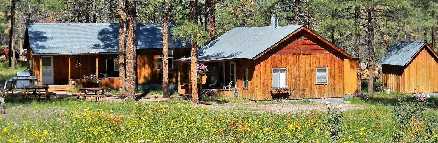 Our Cabins at Geronimo Trail Guest Ranch, New Mexico