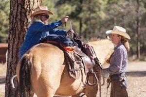 Learning to saddle the horse