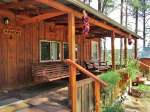 Geronimo Trail Guest Ranch cabin