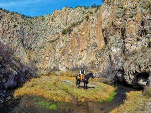 November Ranch Vacation at Geronimo Trail Guest Ranch, New Mexico