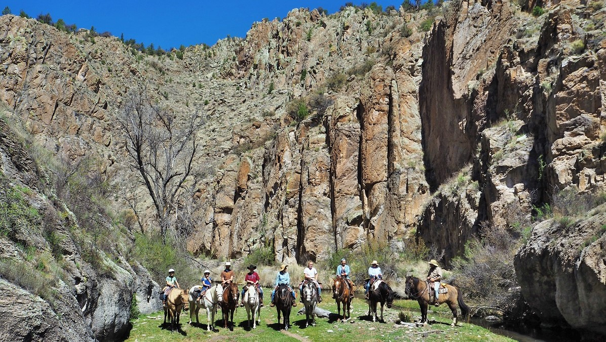 Family Reunions at Geronimo Trail Guest Ranch, Gila National Forest, New Mexico