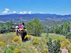 September Ranch Vacation at Geronimo Trail Guest Ranch, New Mexico