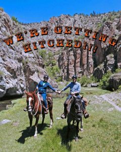 Geronimo Trail Guest Ranch - We're Getting Hitched!